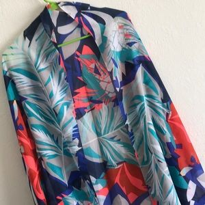 H&M - Floral scarf